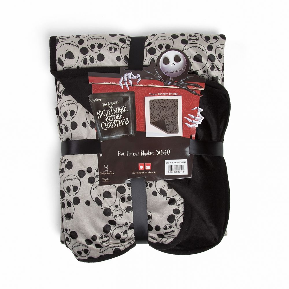 Jack Skellington Pet Blanket