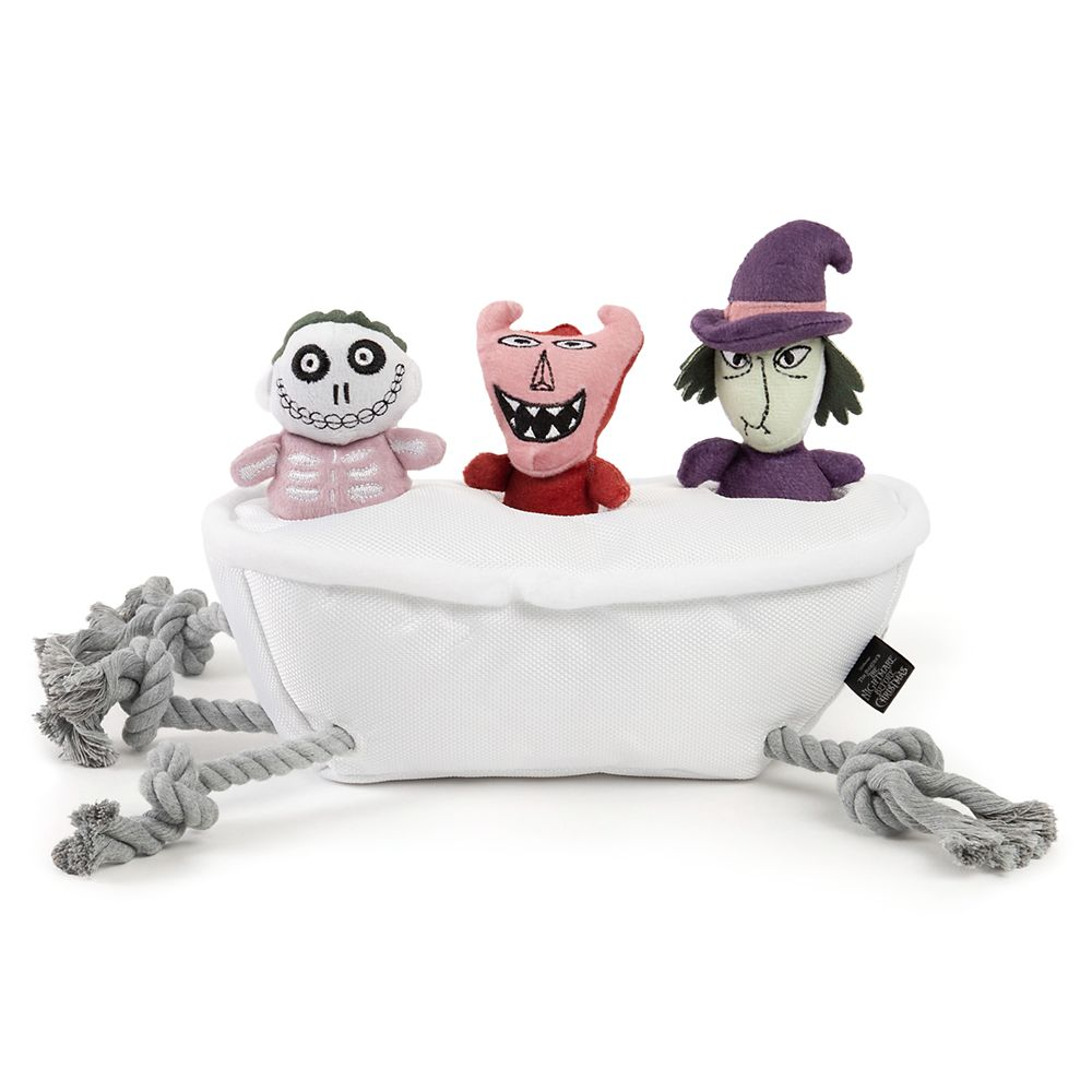 Lock, Shock, and Barrel with Bathtub Pet Chew Toy – The Nightmare Before Christmas