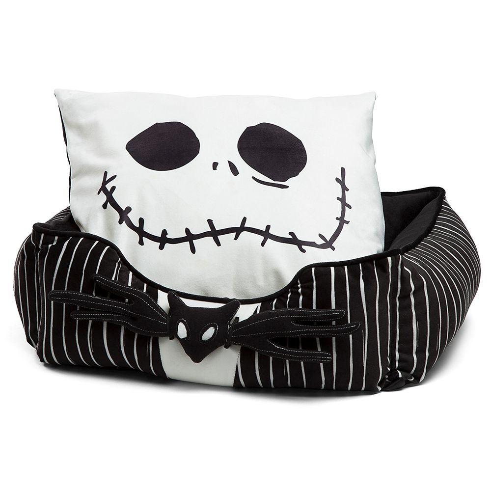 Jack Skellington Bolstered Corded Pet Bed - The Nightmare Before Christmas