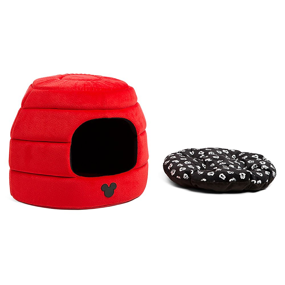 Mickey Mouse 2-in-1 Honeycomb Hut Pet Cuddler – Standard Size