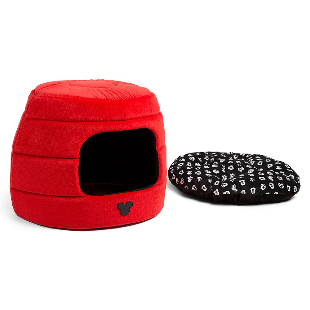 Mickey Mouse 2-in-1 Honeycomb Hut Pet Cuddler – Jumbo Size