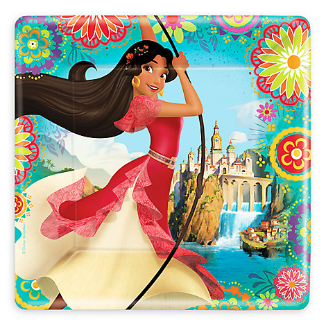 Elena of Avalor Lunch Plates