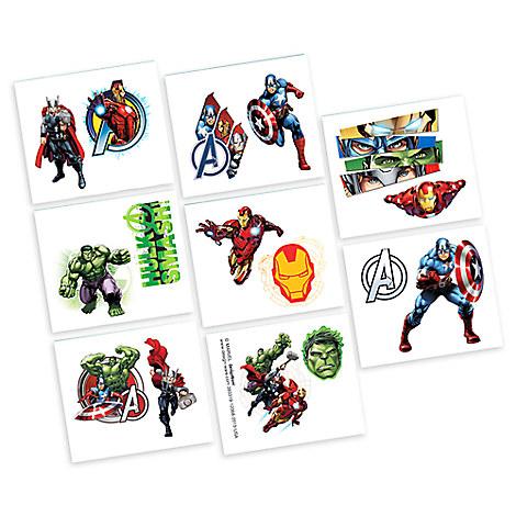 Avengers Tattoos - 2 Pack