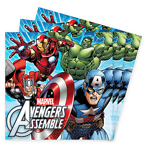 Avengers Lunch Napkins