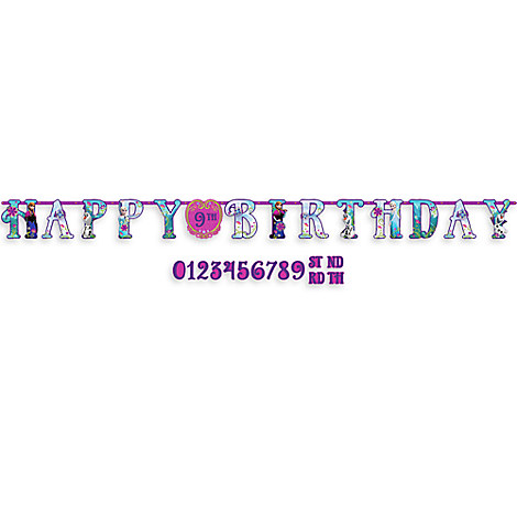 Frozen Birthday Banner