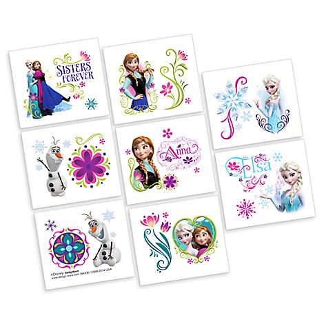 Frozen Tattoos - 2 Pack