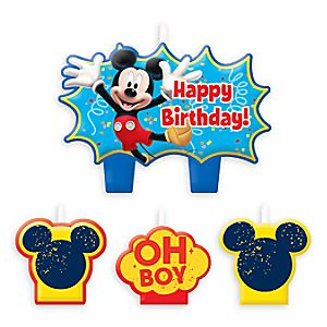Mickey Mouse Birthday Candle Set 6804057861700P