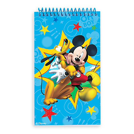 Mickey Mouse Notebooks