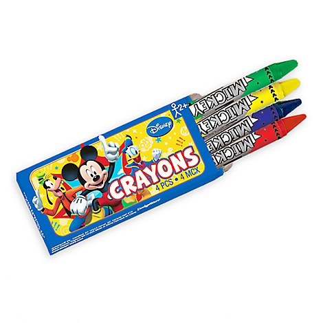 Mickey Mouse Crayons