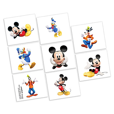Mickey Mouse Tattoos - 2 Pack