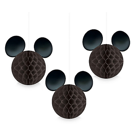 Mickey Mouse Icon Honeycomb Balls