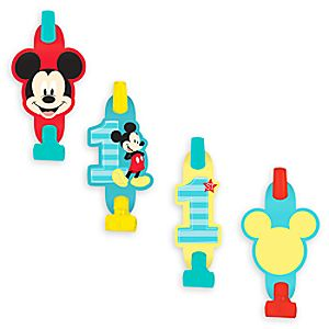 Mickey Mouse 1st Birthday Blowouts 6804057861733P