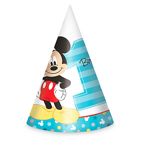 Mickey Mouse 1st Birthday Party Hats