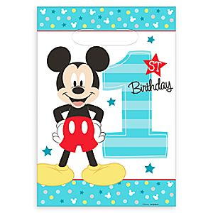 Mickey Mouse 1st Birthday Favor Bags 6804057861743P