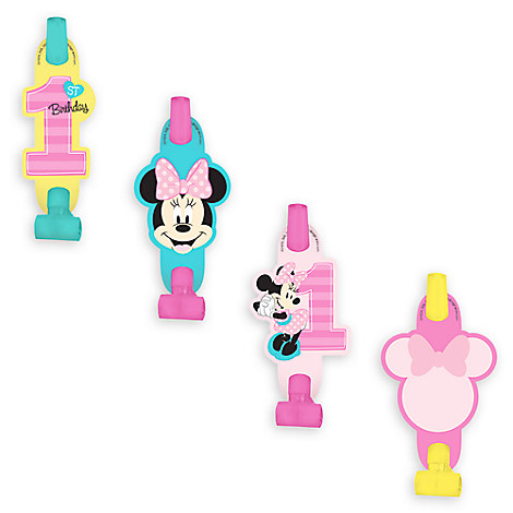 Minnie Mouse 1st Birthday Blowouts