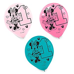 Minnie Mouse 1st Birthday Balloons 6804057861753P