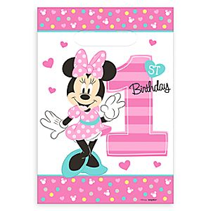 Minnie Mouse 1st Birthday Favor Bags 6804057861761P