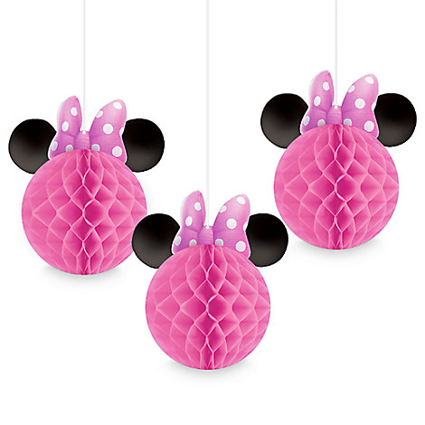 Minnie Mouse Honeycomb Balls