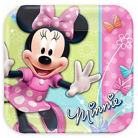 Minnie Mouse Lunch Plates