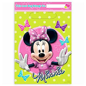Minnie Mouse Favor Bags 6804057861787P