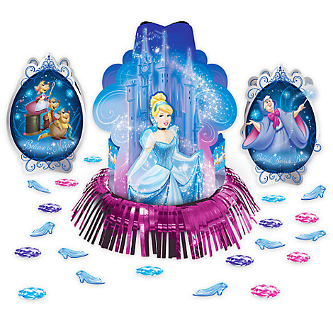 Cinderella Table Decorating Kit