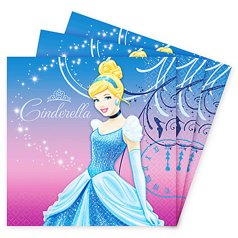 Cinderella Lunch Napkins