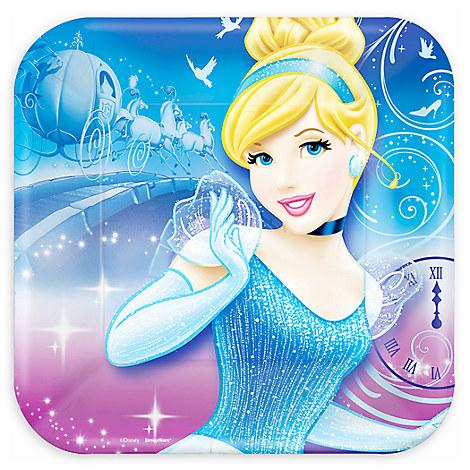 Cinderella Dessert Plates