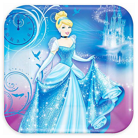 Cinderella Lunch Plates