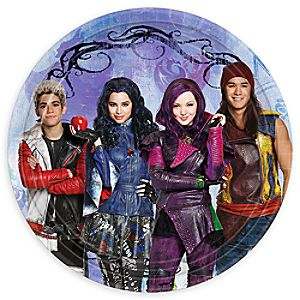 Descendants Dessert Plates
