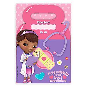 Doc McStuffins Favor Bags 6804057861858P