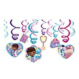 Doc McStuffins Swirl Decorations Set