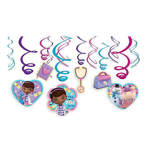 Doc McStuffins Swirl Decorations Set