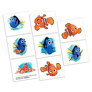 Finding Dory Tattoos - 2 Pack 6804057861875P