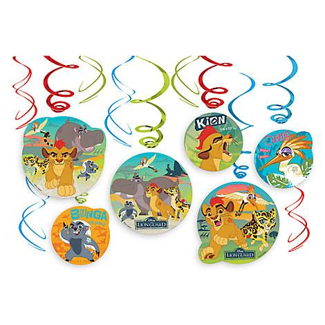 The Lion Guard Swirl Decorations Set