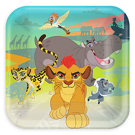 The Lion Guard Lunch Plates