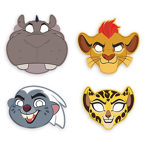 The Lion Guard Masks
