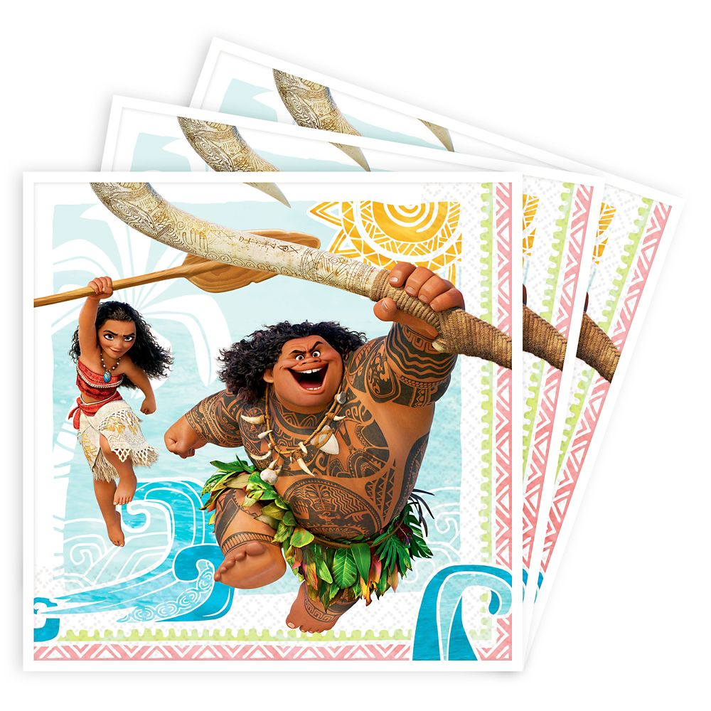Moana Lunch Napkins Official shopDisney