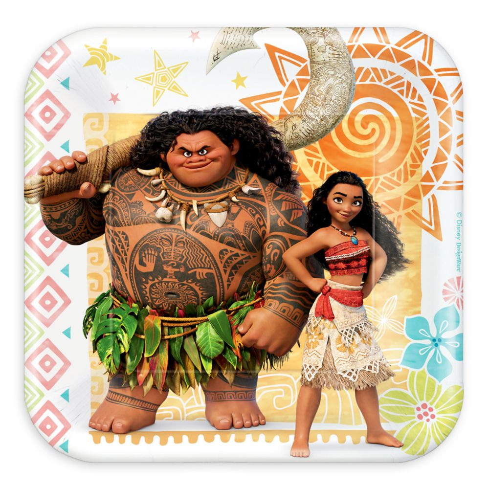 Moana Dessert Plates Official shopDisney