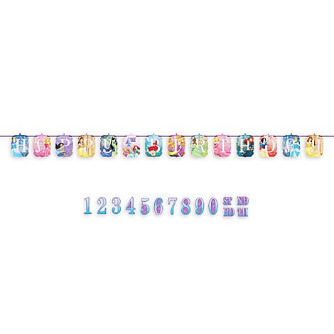 Disney Princess Birthday Banner