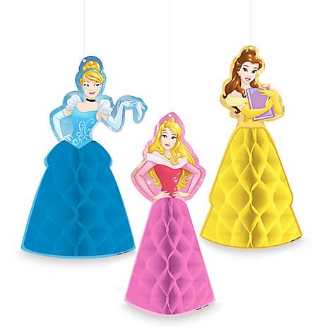 Disney Princess Honeycomb Ornaments