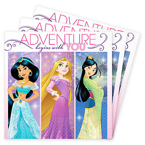 Disney Princess Beverage Napkins