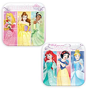 Disney Princess Dessert Plates