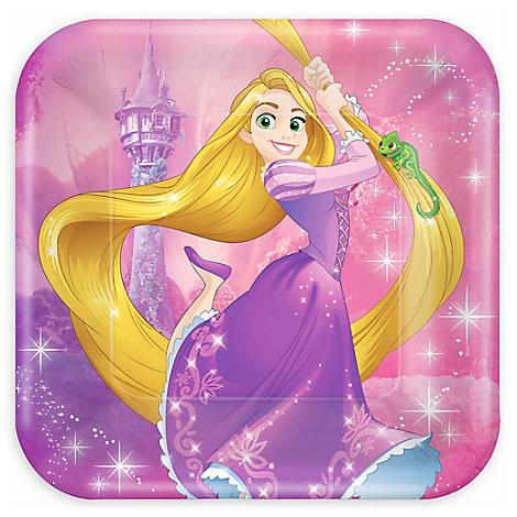 Rapunzel Lunch Plates