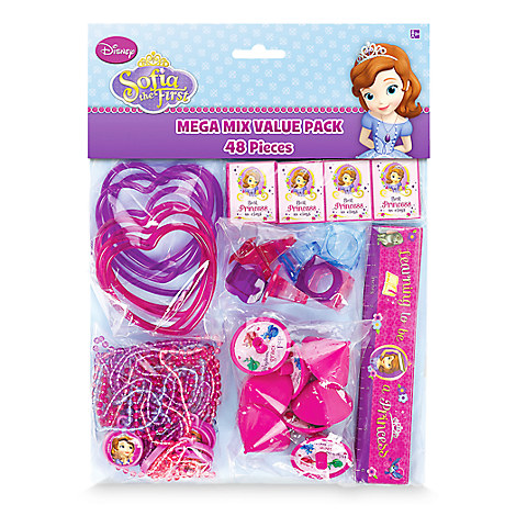 Sofia the First Favor Pack