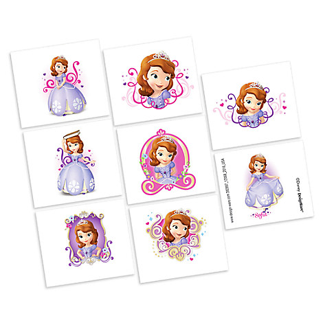 Sofia the First Tattoos - 2 Pack