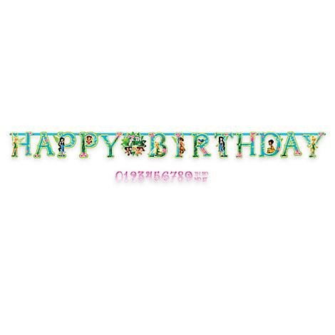 Tinker Bell Birthday Letter Banner