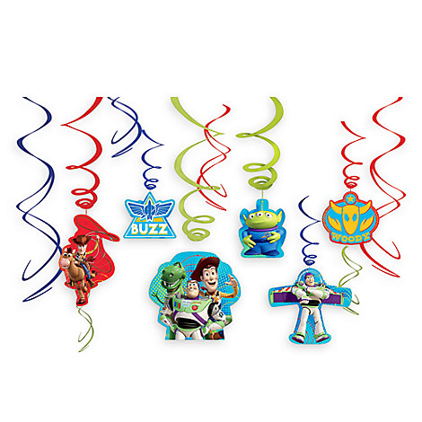 Toy Story Swirl Decorations 12-Piece Set