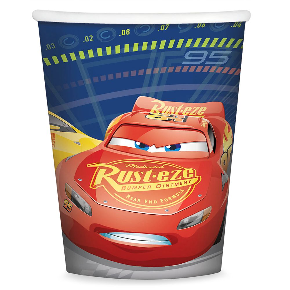 Cars 3 Paper Cups
