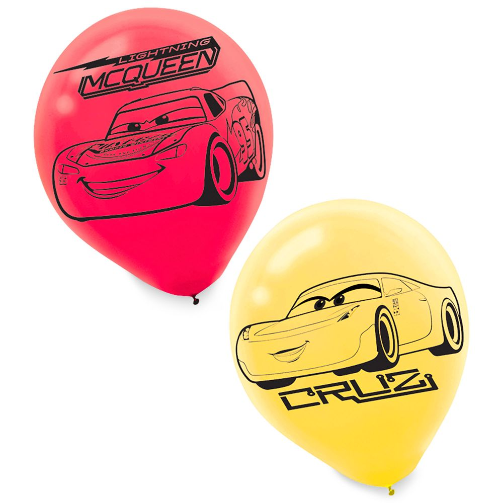 Cars 3 Balloons
