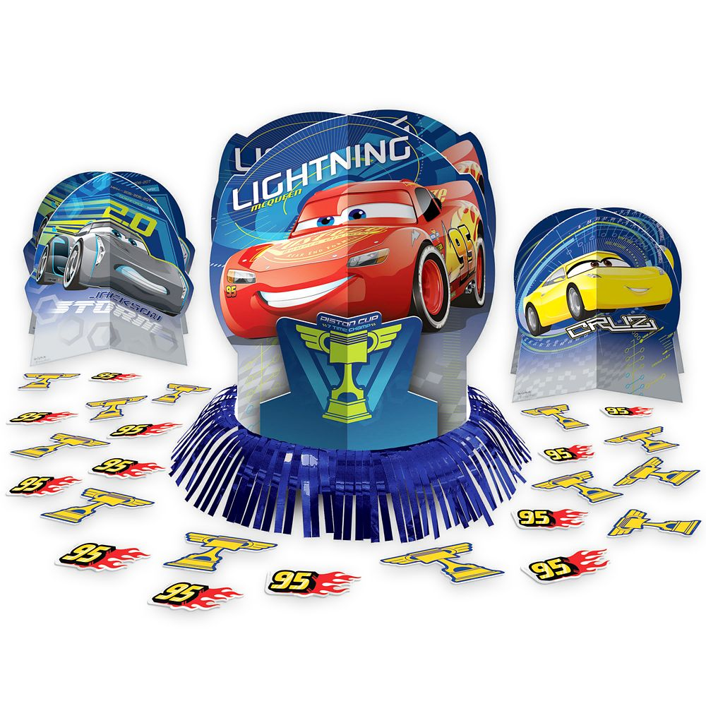 Cars 3 Table Decorating Kit